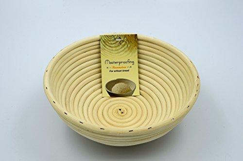 2 Pcs Masterproofing Round Banneton Basket--8 Inch