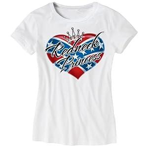 Hitman Designs Women's Redneck Princess Shirt