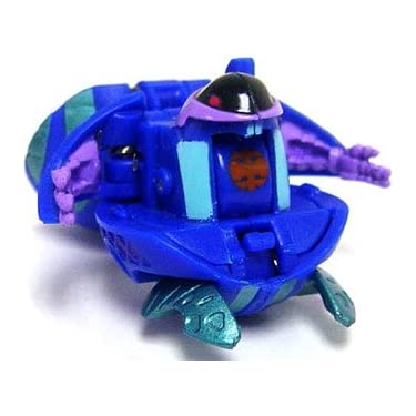 Bakugan Battle Brawlers Game Single Loose Figure Aquos Preyas Blue