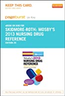 Mosby's  Nursing Drug Reference - Pageburst E-Book on VitalSource
