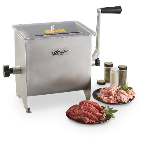 Weston Brand Stainless Steel Meat Mixer