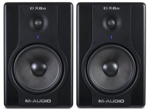M-Audio Studiophile BX8a Deluxe 130-Watt Bi-Amplified