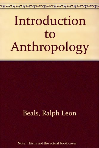 An Introduction to Anthropology