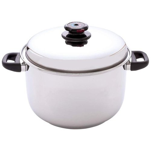 Steam Control™ 12Qt 12-Element Surgical Stainless Steel Stockpot