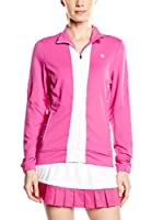 K-Swiss Chaqueta Combi Warm Up (Rosa / Blanco)