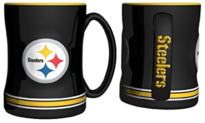 NFL Sculpted Coffee Mug, 15 Ounces from Casey's Distributing