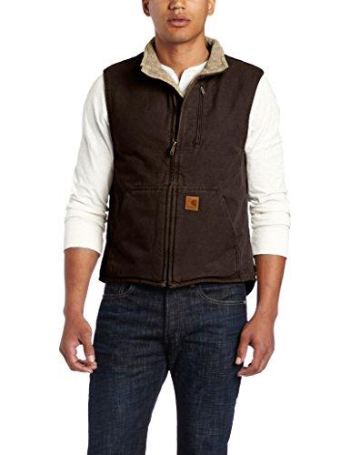 Carhartt Men's Sherpa-Lined Sandstone Vest V33
