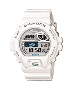 Casio G-shock Gb-6900aa Bluetooth 4.0 Watch (Ios Compatible, White) Fast Shipping By Fedex