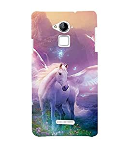 99Sublimation Horse with Wings 3D Hard Polycarbonate Designer Back Case Cover for Coolpad Note 3