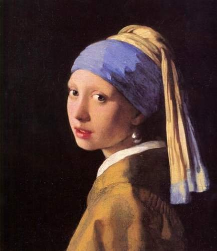 A4 10x8 Fine Art Glossy Photo Image Print The girl with the pearl earring Vermeer