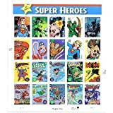 DC Comics Super Heroes Collectible Stamp Sheet