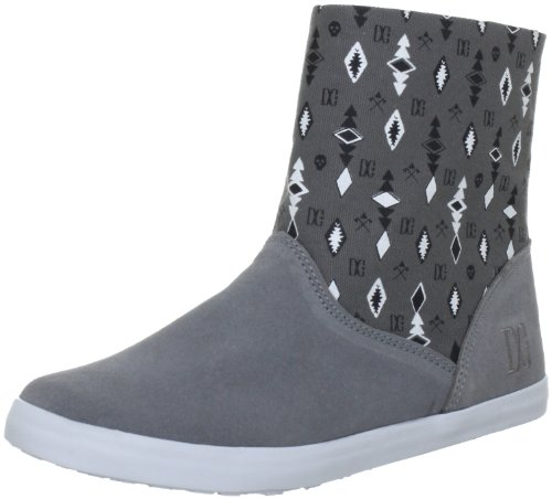 DC Shoes DC Shoes - Schuhe - VERONIQUE TX - D0320076-WVKD - grey Ankle Boots Womens Gray Grau (WLDD/BLK WVKD) Size: 4 (37 EU)