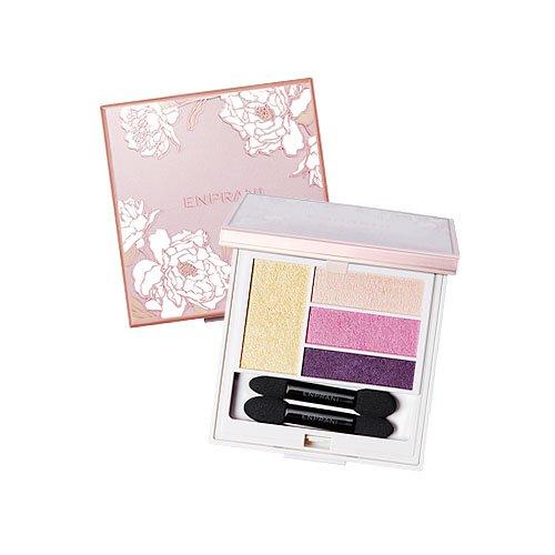 エンプラニ デリケート ルミナス ブルーミング シャドウ 01 Pink Flora