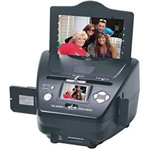 NEW! 22MP PS9790  3-in-1 Digital Photo/Negative Films/Slides Scanner