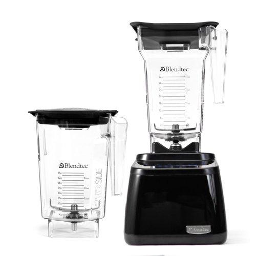 Blendtec Designer Series Blender, WildSide / FourSide Jars - Black