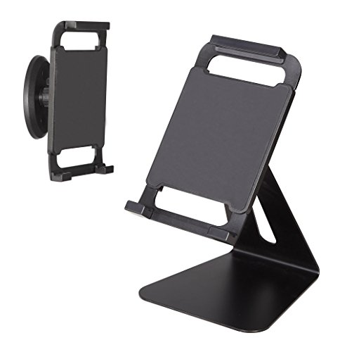 Mounting Dream MD8514-KTB Tablet Holder with Full-motion Rotation, Tilt with Hand-free Stand and Wall Mount Function for most 7-12.5 Inches Tablets up to 3.3 LBS