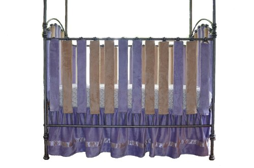 Go Mama Go Designs 24 Count Wonder Bumpers, Lavender/Latte