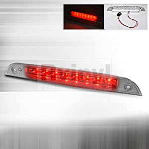 ford focus 2000 2001 2002 2003 2004 led third brake light chrome automotive. Black Bedroom Furniture Sets. Home Design Ideas