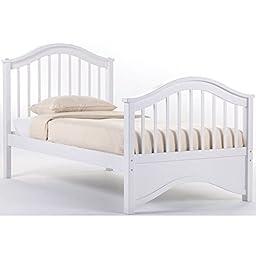 NE Kids School House Jordan Bed in White - Twin