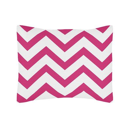 Hot Pink Chevron Bedding 4491 front