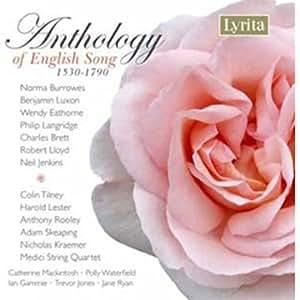 Anthology of English Song 1530-1790