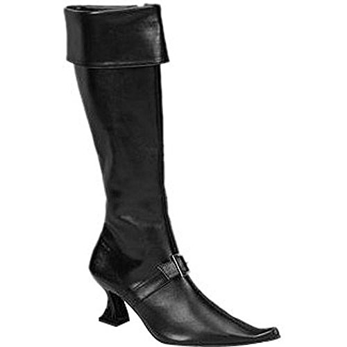 Adult Ladies Sexy Pirate Boots (Size: Medium 7-8)