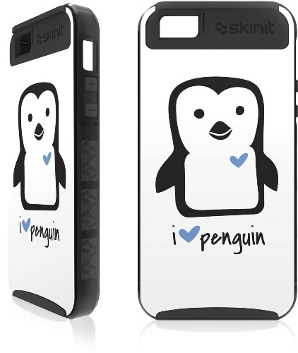 Special Sale i HEART penguin Apple iPhone 5 / 5s Cargo Case