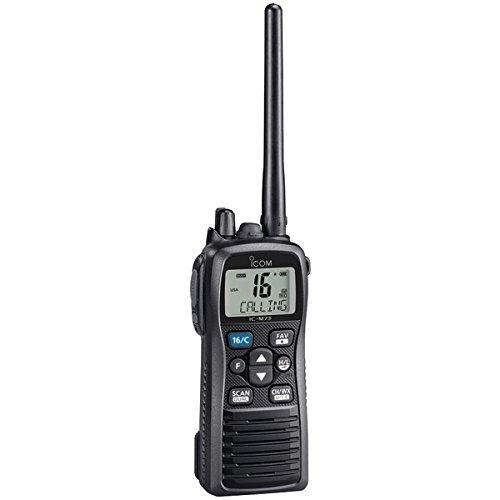Icom M73 Handheld VHF - 6 Watts, IPX8 Submersible