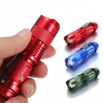 Ultrafire Cree Q5 300Lm Mini Led Flashlight 1Xaa/14500