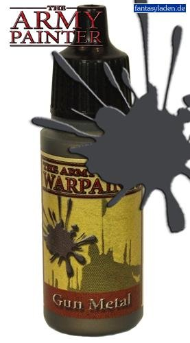 Army Painter WP1131 Warpaints - Gun Metal, 18 ml - 1