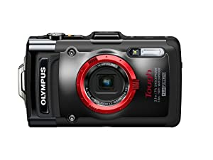Olympus Stylus TG-2 iHS Digital Camera with 4x Optical Zoom and 3-Inch LCD (Black) (Old Model)