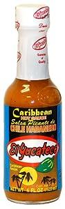 El Yucateco Caribbean Habanero Hot Sauce - 4 Oz by El Yucateco