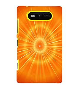printtech Abstract Pattern Aura Back Case Cover for Nokia Lumia 820