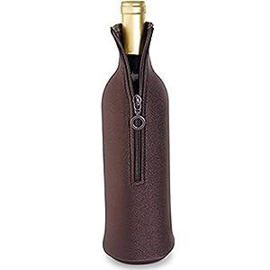 Neoprene Epicoozie Wine Bottle Bag - Brown
