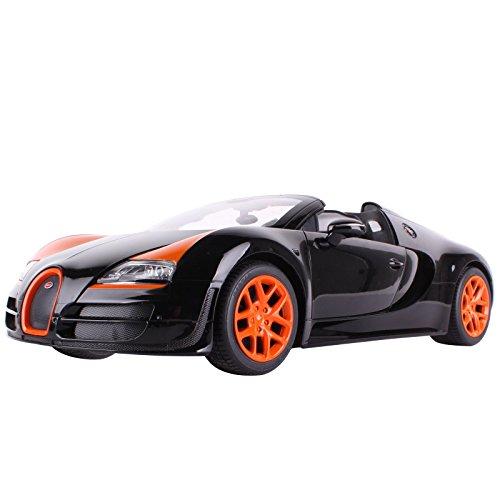 YESURPRISE Modellauto Rastar Spielauto Fernbedienung Auto Car Modell R/C 1:14 Bugatti Grand Sport Vitesse (Special Version) 70400 Car Model