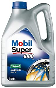The best mobil super 1000x1 151180 15w40 5l multi grade for Best non synthetic motor oil