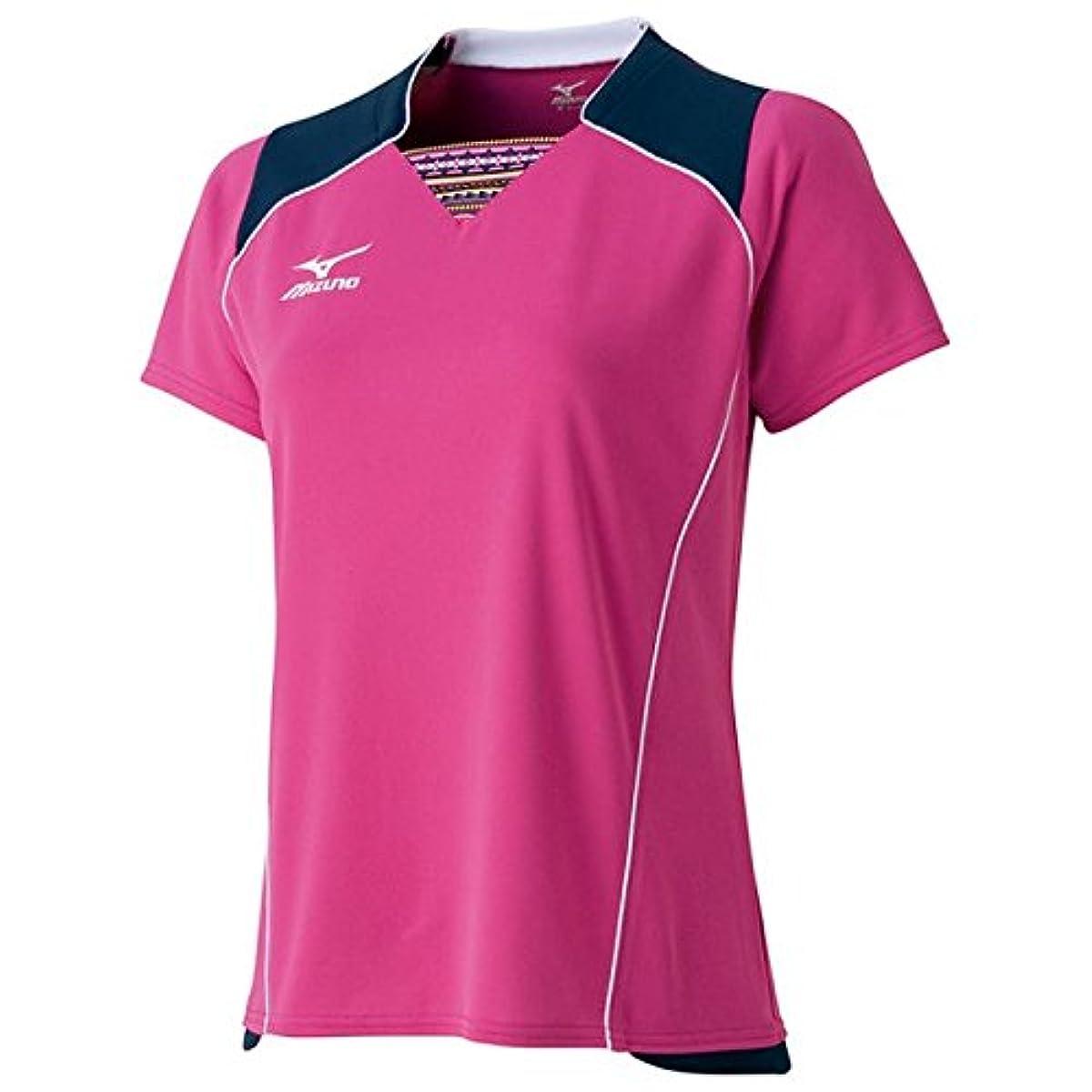 [해외] 미즈노(MIZUNO) 탁구 women's 게임 셔츠 (WOMENS) 82JA6801