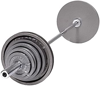 Weider Olympic Hammertone 210 lb. Weight Set
