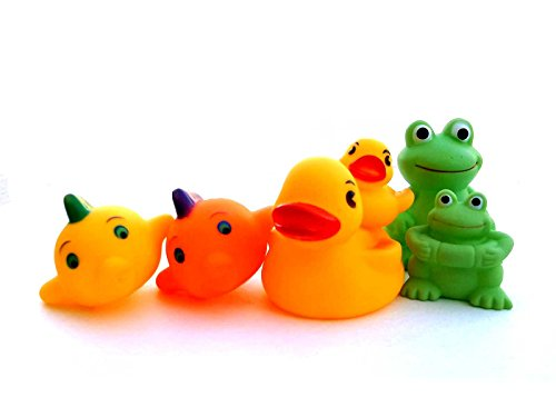Bath Toys for Baby Rubber Duckie & Friends - 1