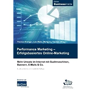 eBook Cover für  Performance Marketing Erfolgsbasiertes Online Marketing Mehr Umsatz im Internet mit Suchmaschinen Bannern E Mails amp Co