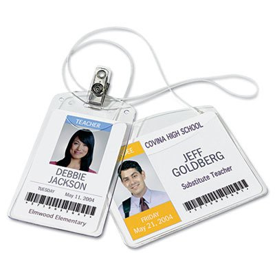 Avery Landscape Photo ID System Badge Holders
