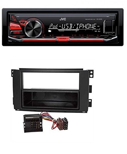 JVC-MP3-USB-Autoradio-fr-Smart-ForTwo-451-ForFour-454-Quadlock
