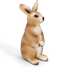 Schleich Standing Rabbit Toy Figure