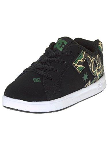 Chaussures tout-petits DC Court Graffik Elastic UL Noir-Camo