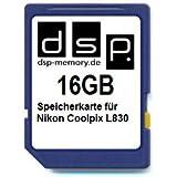 16GB Speicherkarte für Nikon Coolpix L830