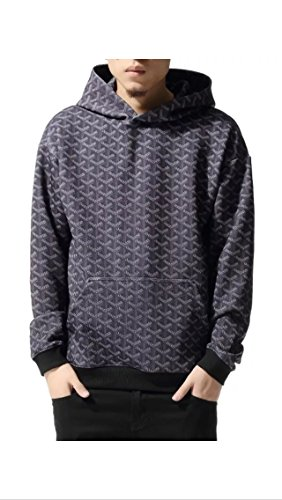 goyard-inspired-kryptonite-hoodie-m