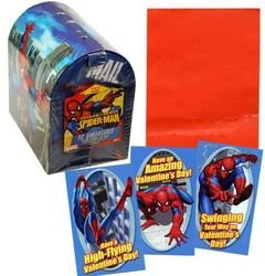 Spiderman Valentines + Keepsake Light up Box