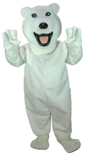 Icey Polar Bear Mascot Costume