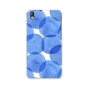 Artzfolio Watercolor Blue Circles Htc Desire 816 Matte Polycarbonate Case Cover