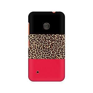 Ebby Tri Print Premium Printed Case For Nokia Lumia 530